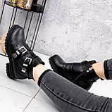 Ботинки женские Dorian черные ЗИМА 2414, фото 10