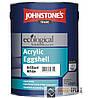 Johnstones Acrylik Eggshell (Джонстоун ТМ Акрилик Эгшелл) Краска акриловая полуматовая глянцевая 5 л