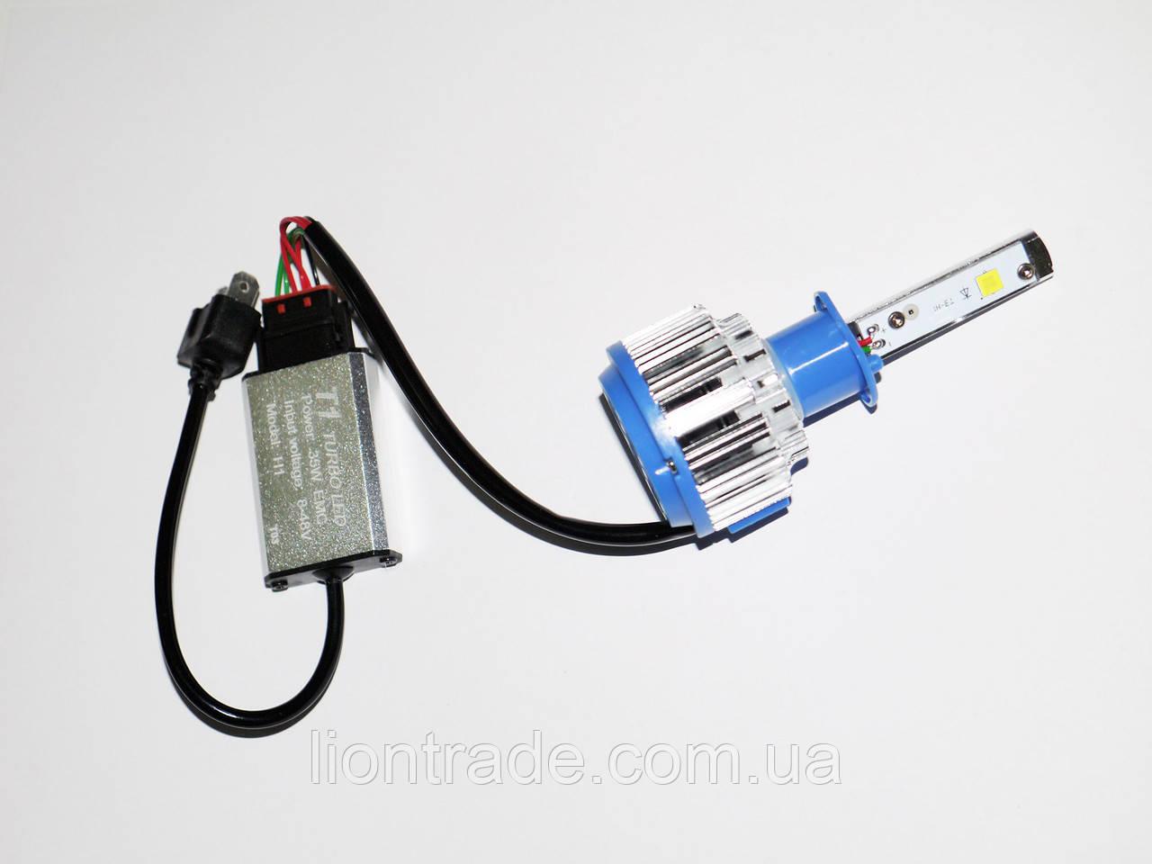 LED ксенон светодиодный H1 6000K 35W