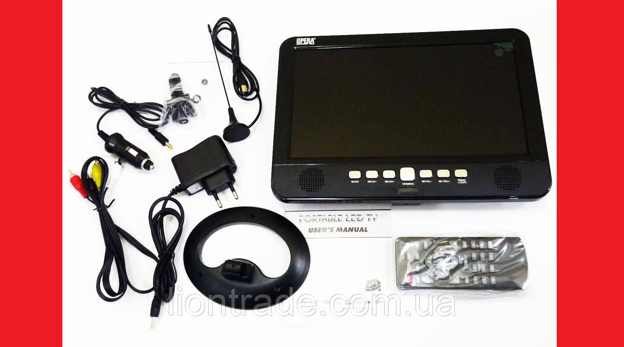 "10"" Портативний TV Opera NS-1001 USB+SD (без батареї)"