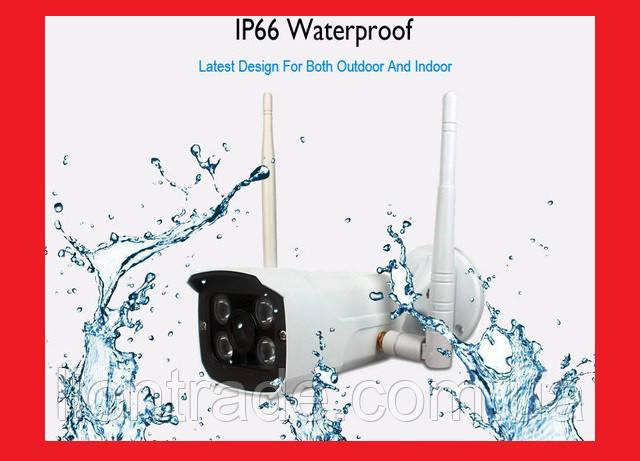 IP WiFi камера X8200 з віддаленим доступом (вулична)
