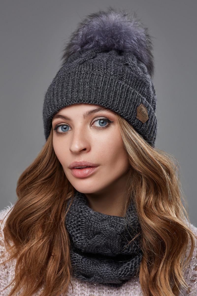 Зимовий жіночий комплект Клер