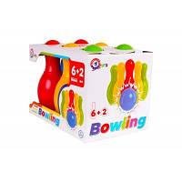 Іграшка  «Набір для гри в боулінг ТехноК», арт.