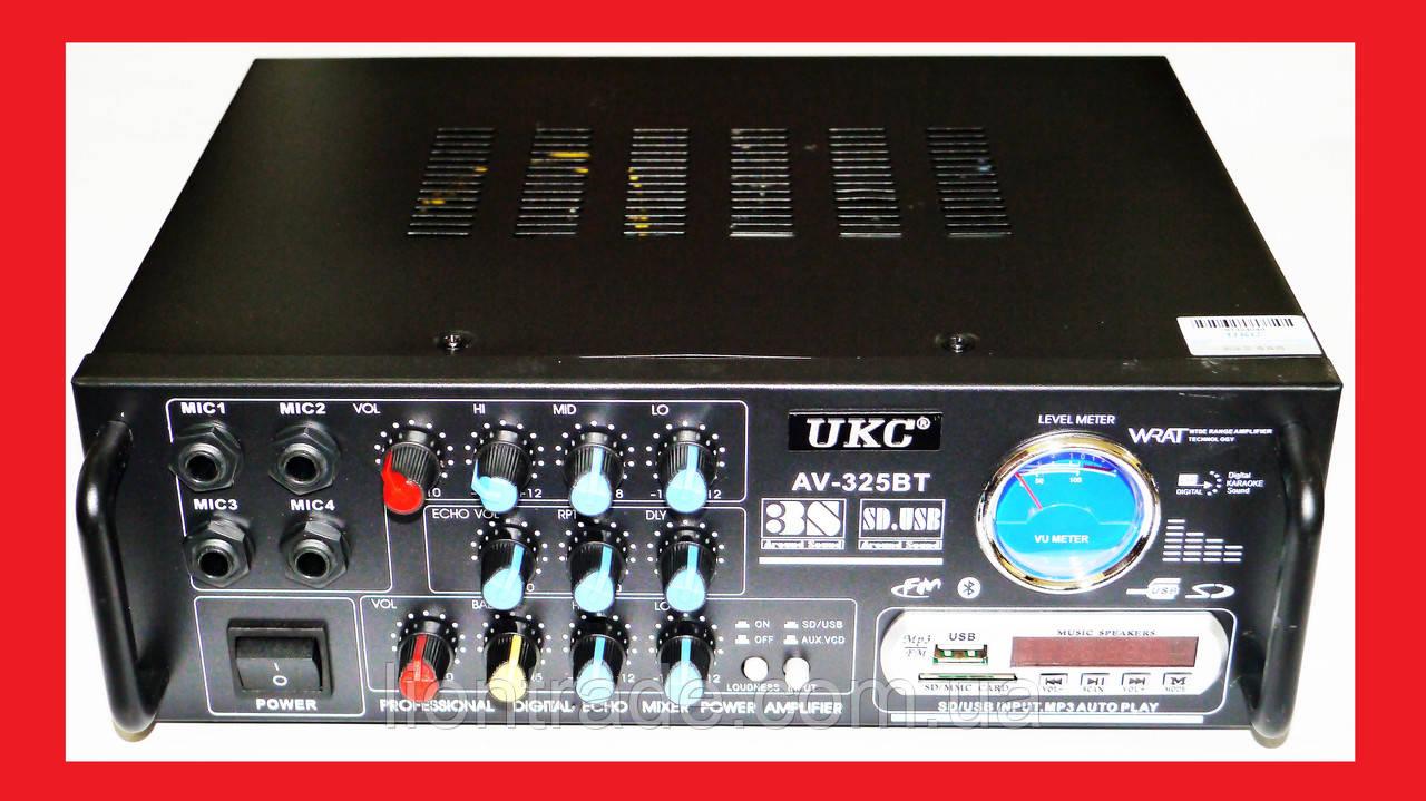 Усилитель UKC AV-325BT Bluetooth Караоке