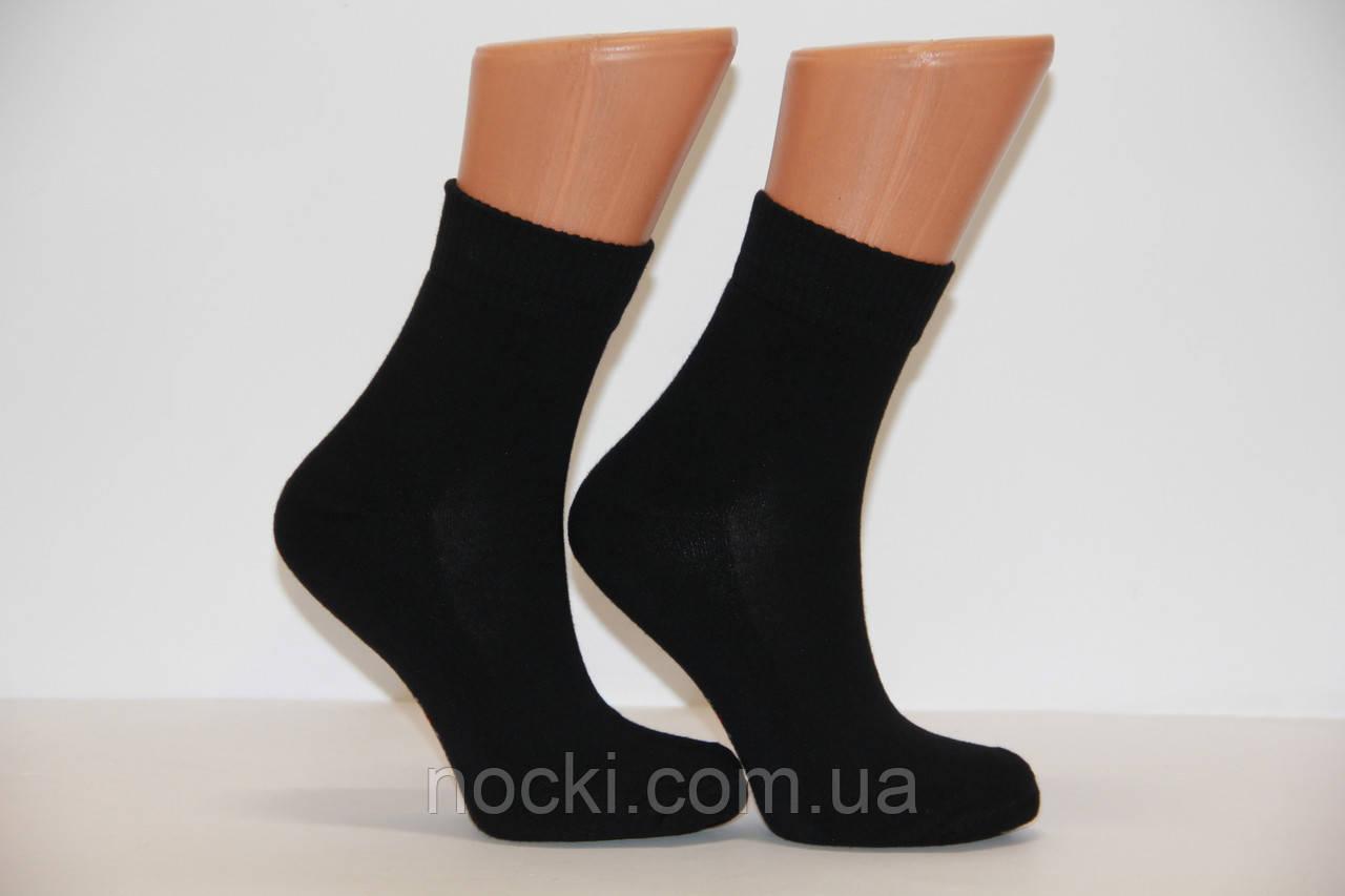 Женские носки средние с махровой подошвой DUNDAR 36-40 черный