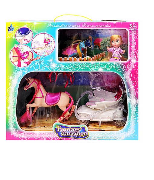 Карета з коником і лялькою,  SМ3006