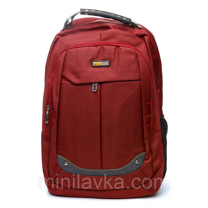 Рюкзак городской BST 430020 35х18х48 см. красный