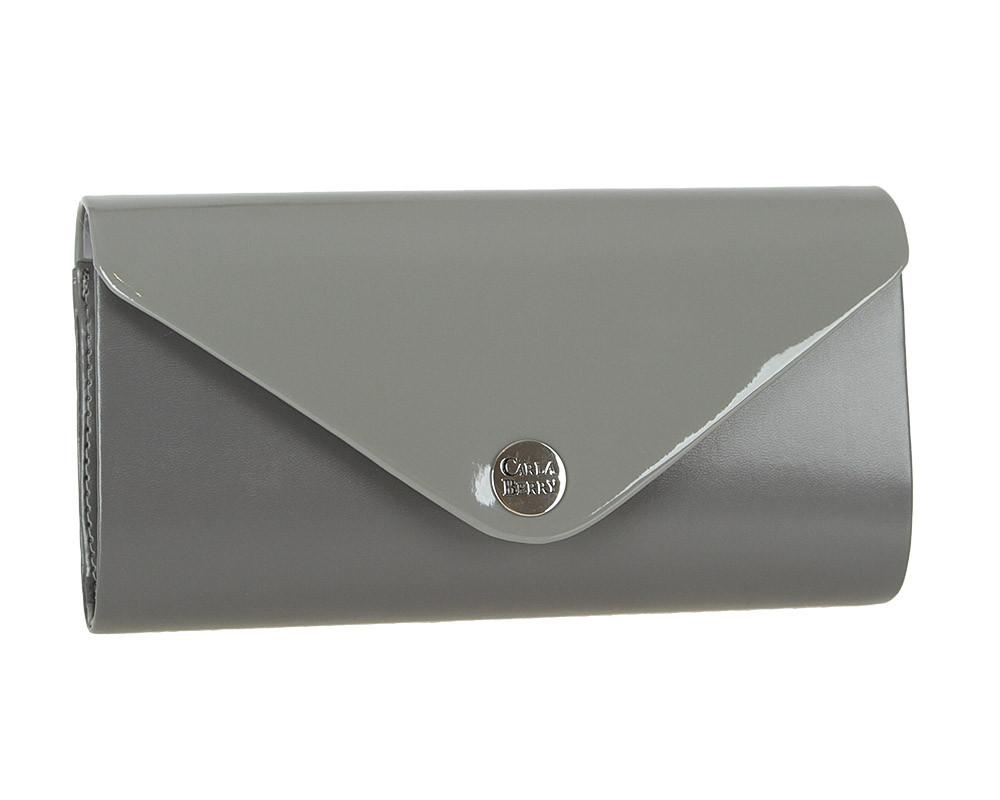 Вечерний клатч Carla Berry B55 Серый