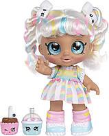 Кукла пупс Кинди Кидс Марша Мелло Зефирка Время друзей перекусить Kindi Kids Snack Time Friends Marsha Mello
