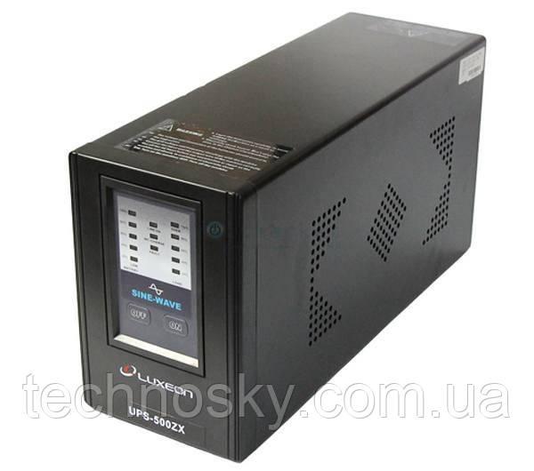 Бесперебойный блок питания (UPS, ИБП) Luxeon UPS-500ZX 500ВА 12В