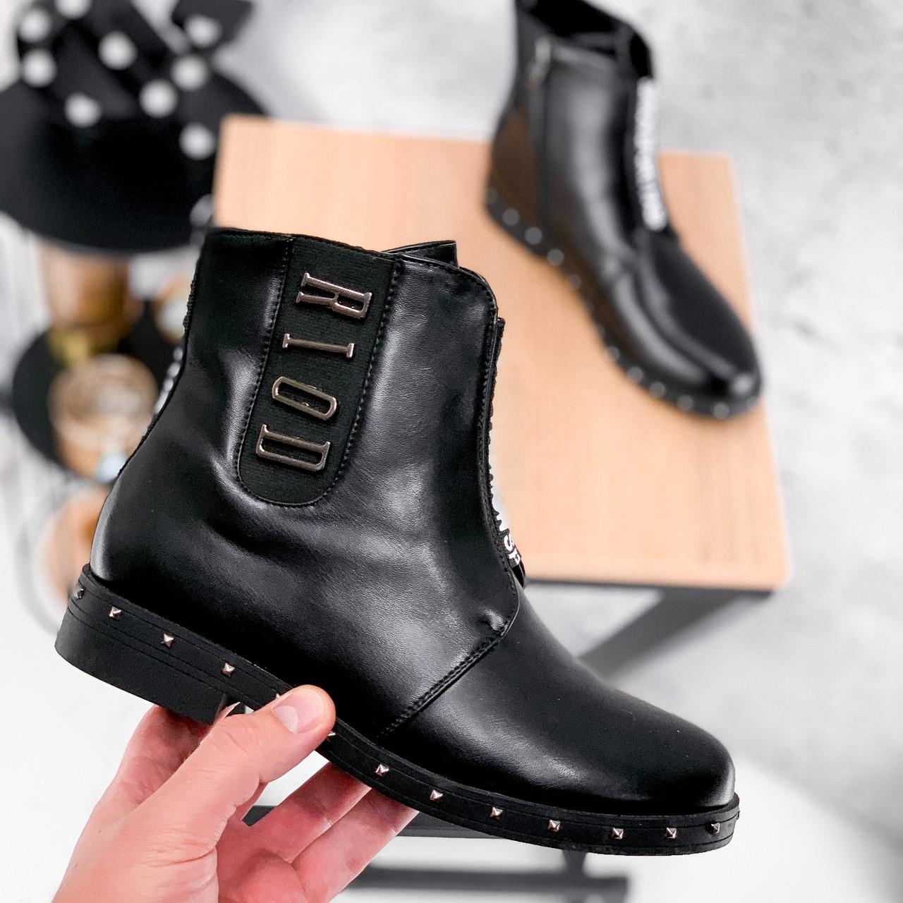 Ботинки женские Eily черные ДЕМИ 2418