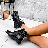 Ботинки женские Eily черные ДЕМИ 2418, фото 2
