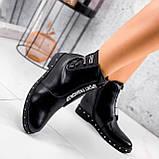 Ботинки женские Eily черные ДЕМИ 2418, фото 3