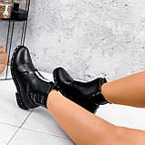 Ботинки женские Eily черные ДЕМИ 2418, фото 4