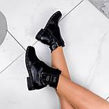 Ботинки женские Eily черные ДЕМИ 2418, фото 5