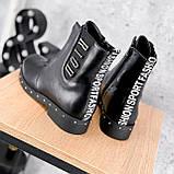 Ботинки женские Eily черные ДЕМИ 2418, фото 7
