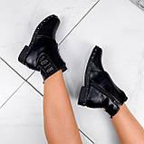 Ботинки женские Eily черные ДЕМИ 2418, фото 6