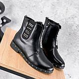 Ботинки женские Eily черные ДЕМИ 2418, фото 10