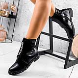 Ботинки женские Eily черные ДЕМИ 2418, фото 8