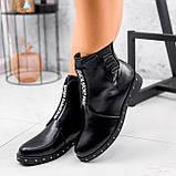 Ботинки женские Eily черные ДЕМИ 2418, фото 9