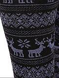 Женские штаны с Оленями внутри начёс, фото 6