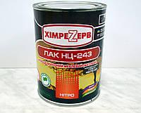 Лак нитро мебельный НЦ-218 (глянцевый) Химрезерв (0,8кг)