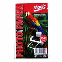 Фотобумага Magiс A6 150 10x15 Glossy