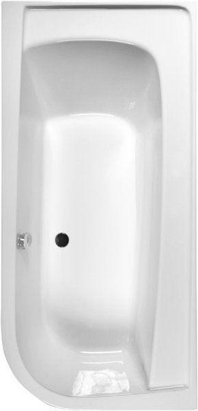 Акриловая ванна Ravak Praktik PU-PLUS 175 левосторонняя C261000000, 1750х850х610 мм