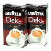 Кофе Lavazza Dek Decaffeinato Intenso (без кофеина) 30% арабики, 70% робусты, Италия