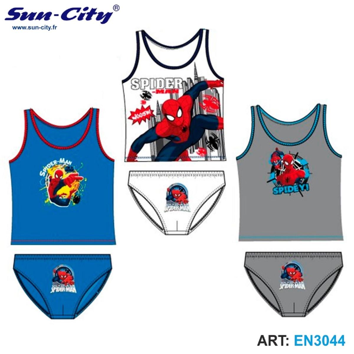 Майка и трусики SunCity - Spider Man (EN3044), 2-8 лет