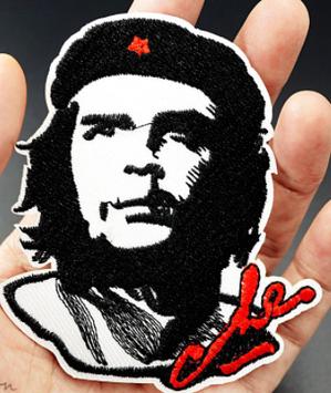 На одежду термо наклейка нашивка апликация эмблема Че Гевара Che Guevara отличное качество