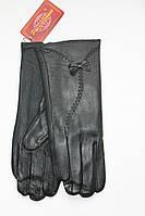 Женские перчатки кожаные 12206