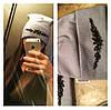 Шапка на флисе с украшением, фото 3