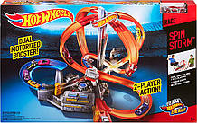 "Трек Хот Вилс Головокружительные виражи ""Шторм"" Hot Wheels Spin Storm Track Оригинал из США"