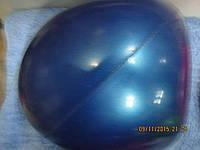 Мяч для художественной гимнастики диам. 20см синий Тайвань