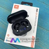 Беспроводные bluetooth наушники JBL MG-S20 с микрофоном для пк телефона wireless вкладыши блютуз черные, фото 1