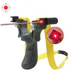 Рогатка спортивная охотничья с лазерным прицелом SYQT