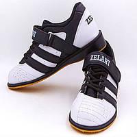 Штангетки взуття для важкої атлетики Zelart PU OB-4594 38