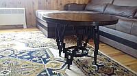 Журнальный столик Лофт 24/18 диаметром 600 мм, высотой 500 мм
