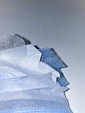 Маски медицинские с мельтблауном, трехслойные, заводские, оптом и в розницу, фото 3