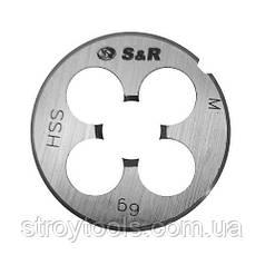 Плашка S&R М6 х 1,0 мм