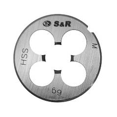 Плашка S&R М10 х 1,5 мм