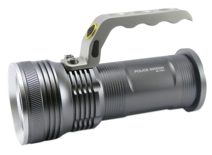 Фонарь прожектор Police T801 Silver (3009)