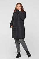 Зимняя слингокуртка 3 в 1 для беременных Lullababe Dresden черная, фото 1