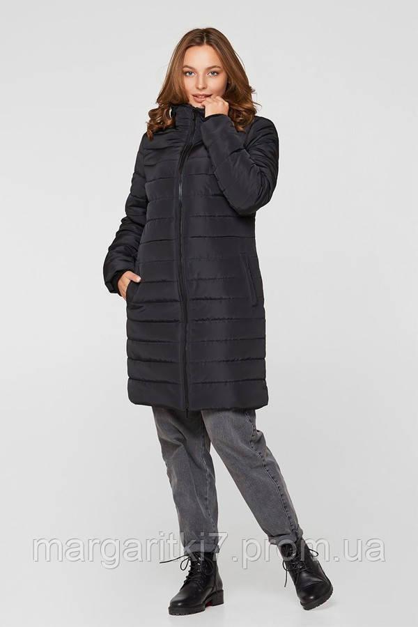 Зимняя слингокуртка 3 в 1 для беременных Lullababe Dresden черная