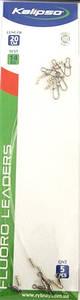 Повідець флюорокарбон Kalipso 15см 14кг (5шт)