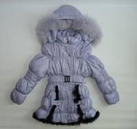 Куртка зимняя для девочки ( 8-12 ) лет