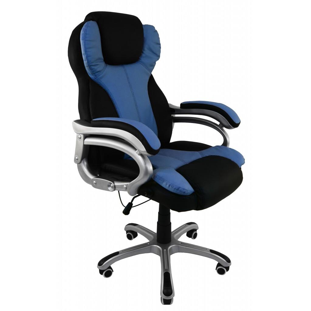 Крісло Bonro O8074 синє