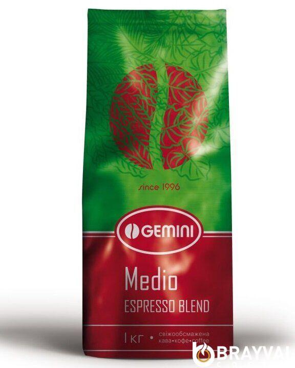 Кофе в зернах Gemini Espresso Medio 1 кг