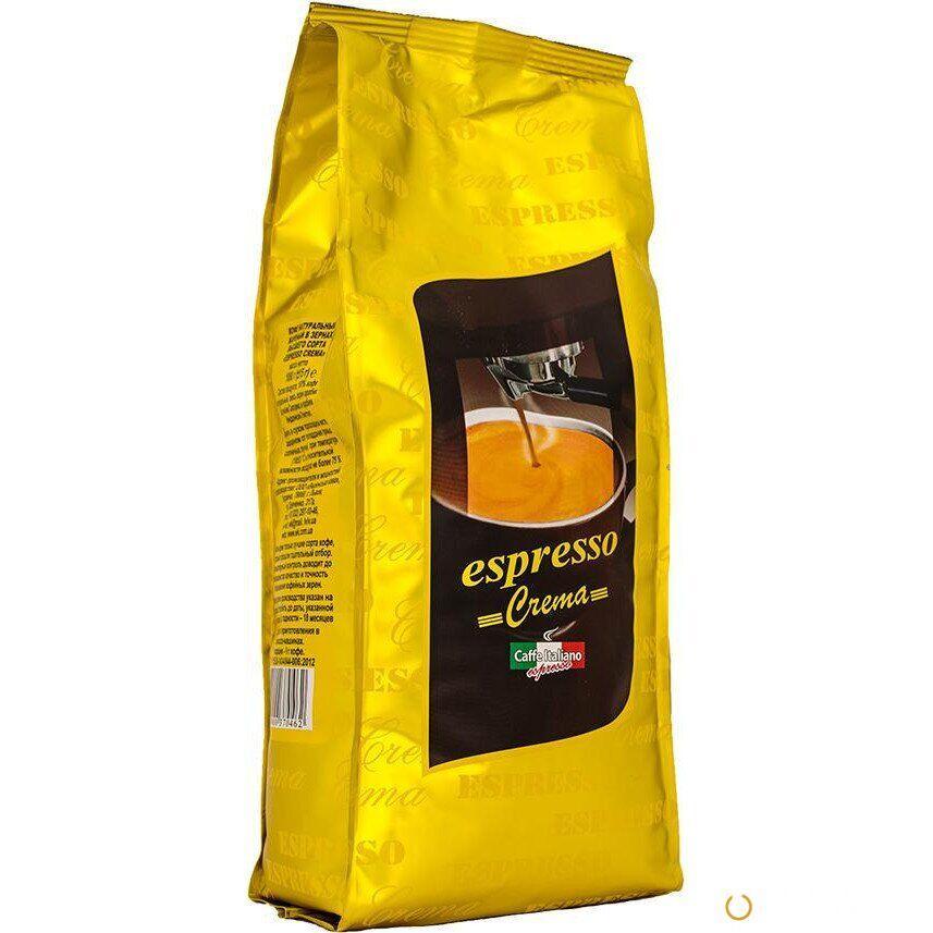 """Кофе в зёрнах """"Віденська кава"""" Espresso Crema 1 кг"""